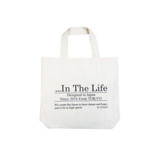 【nightsale】 the HAMP works/ザ・ハンプワークス HW-002 B-1 日本製 トートバッグ In The Life 厚地 帆布 (In The Life)