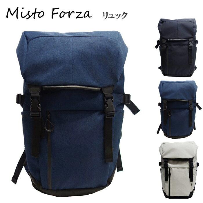 Misto Forza/ミストフォルツァ FMS02 メンズ Robic生地 スポーティタウンユースバックパック リュック (ネイビー) ロワード