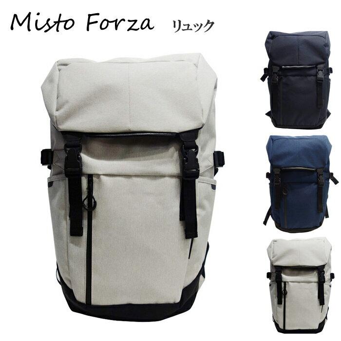 Misto Forza/ミストフォルツァ FMS02 メンズ Robic生地 スポーティタウンユースバックパック リュック (ホワイト) ロワード