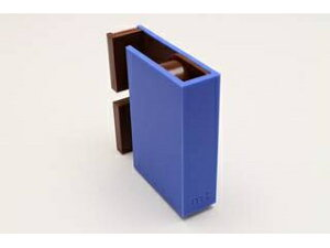 KAMOI/カモ井加工紙 mt tape cutter twins ブルー×ブラウン MTTC0028