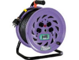 NICHIDO/日動工業 電工ドラム 単相200Vドラム アース漏電しゃ断器付 30m NF-EB230-15A