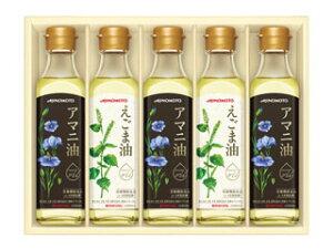 味の素 えごま油&アマニ油ギフト EGA−50R お歳暮ギフト2020-6