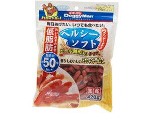 DoggyMan/ドギーマンハヤシ ヘルシーソフト ビール酵母入りササミ ウィンナータイプ 420g