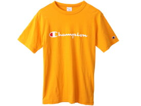 Champion/チャンピオン Tシャツ Mサイズ イエロー C3P302-740