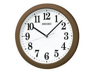 SEIKO/セイコークロック KX379B 電波掛時計 スイープセコンド/おやすみ秒針/大文字