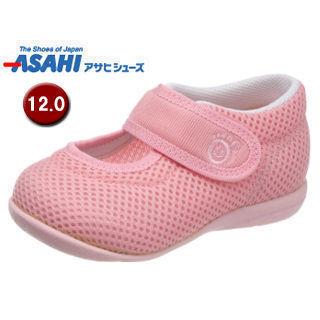 【nightsale】 ASAHI/アサヒシューズ KC25517-AA アサヒ健康くんB02-JP ベビーシューズ 【12.0cm・2E】 (ピンクメッシュ)