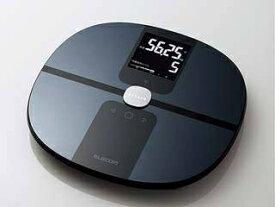 ELECOM/エレコム エクリア 体組成計 Wi-Fi通信機能搭載 ブラック HCS-WFS01BK ・IoT体組成計 ・スマート体重計/IoT体重計
