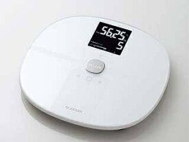 ELECOM/エレコム エクリア 体組成計 Wi-Fi通信機能搭載 ホワイト HCS-WFS01WH ・IoT体組成計 ・スマート体重計/IoT体重計