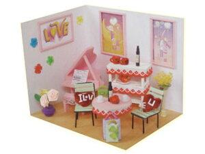 ARTE/アルテ ドールハウスキット バレンタインデー DHN-05 【手作りの楽しみ・趣味に♪】 【dollhouse】【ホビー】【趣味】【ミニチュア】【クラフト】