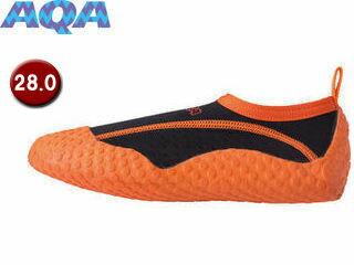 AQA/アクア KW4472N-4228 スノーケリングシューズIII 【28.0cm】 (オレンジ)