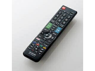 ELECOM/エレコム かんたんTVリモコン/東芝・レグザ用/ブラック ERC-TV01BK-TO