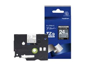 brother/ブラザー 【TZeテープ】おしゃれテープ プレミアムタイプ(プレミアムシルバー/幅24mm) TZe-PR955