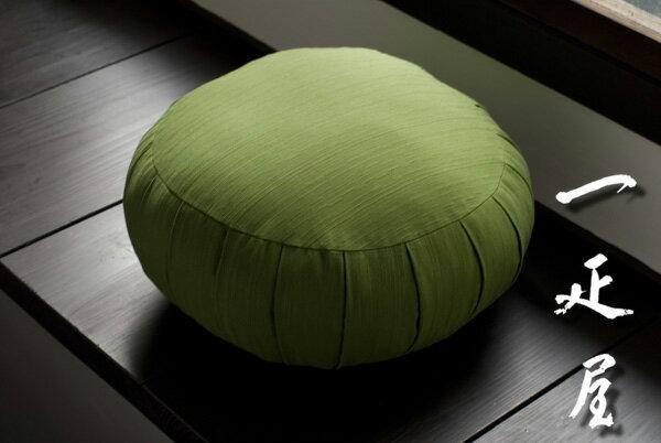 ツムギ(モスグリーン)曹洞宗・座禅座布団 標準サイズ