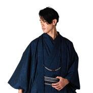 正絹男性着物西陣織物きもの2点セット