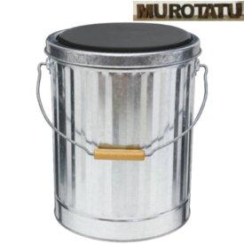 クッション缶 5個セット オバケツ 【 送料無料 】 OBAKETSU クッション缶 AKPM シルバー 金属