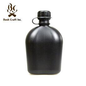 ROTHCO(ロスコ) GIスタイル 1QT(約1.0L) キャンティーンボトル (ブラック色) 水筒 0613902060609 ブッシュクラフト キャンプ アウトドア 防災用 湯たんぽ ソロキャンプ(おうちキャンプ)
