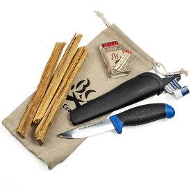 Bush Craft inc. ブッシュクラフト フェザースティックお試しセット (火おこしセット・ルーキーナイフあり) 4573350728130 プレゼント 焚き火 ブッシュクラフト アウトドア ソロキャンプ(おうちキャンプ)