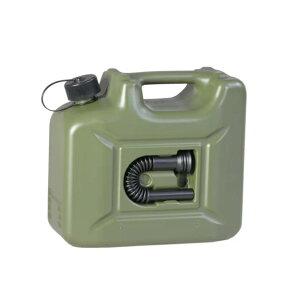 hunersdorff PROFI ヒューナースドルフ Fuel Can Pro 10L OLIVE オリーブ色 フューエルカンプロ 燃料ボトル 801000 水タンク 燃料タンク 灯油ストーブ用 キャンプ 海水浴 サーフィン