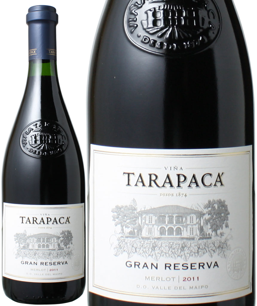 【ヤマト運輸で厳重梱包配送】タラパカ グラン・レゼルバ メルロー [2014] <赤> <ワイン/チリ> ※ヴィンテージ異なる場合がございます。
