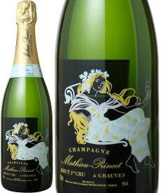 【送料無料】マチュー・プランセ ブリュット プルミエ・クリュ ブラン・ド・シャルドネ NV <白> <ワイン/シャンパン>