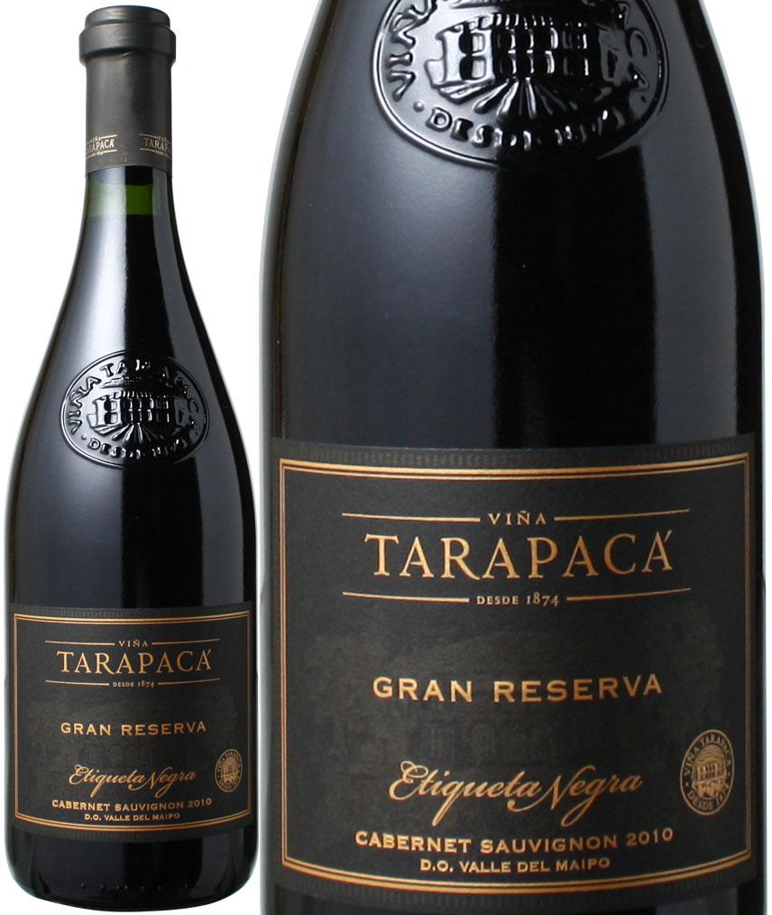 【全品送料無料】タラパカ グラン・レゼルバ ブラックラベル カベルネ・ソーヴィニョン [2015] <赤> <ワイン/チリ>※ヴィンテージが異なる場合がございますのでご了承ください【沖縄は別途料金加算】