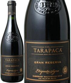 【送料無料】タラパカ グラン・レゼルバ ブラックラベル カベルネ・ソーヴィニョン [2018] <赤> <ワイン/チリ>※ヴィンテージが異なる場合があります。