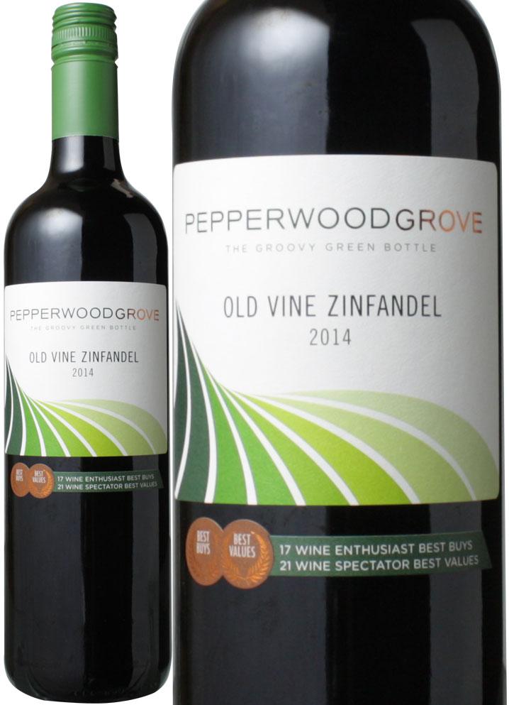 【ヤマト運輸で厳重梱包配送】オールド・ヴァイン ジンファンデル カリフォルニア [2015] ペッパーウッド・グローヴ <赤> <ワイン/アメリカ> ※ヴィンテージが異なる場合があります。