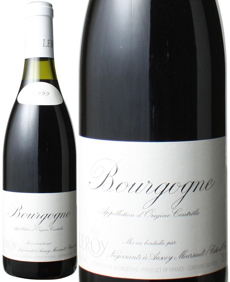 ブルゴーニュ・ルージュ [1999] メゾン・ルロワ <赤> <ワイン/ブルゴーニュ>