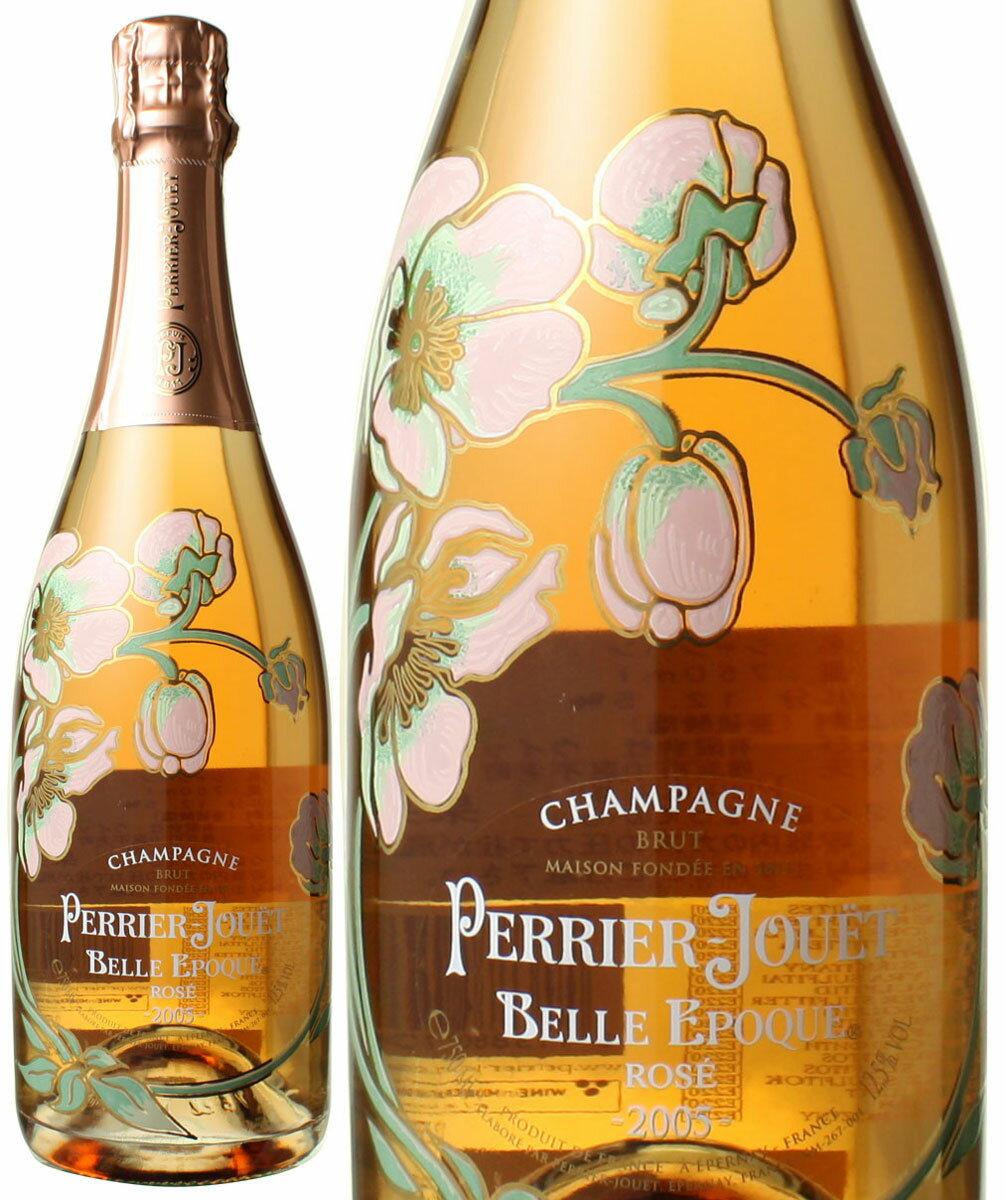 ペリエ・ジュエ ベル・エポック ロゼ [2005] <ロゼ> <ワイン/シャンパン>