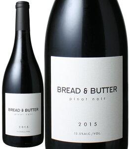 ブレッド&バター ピノ・ノワール [2018] アルコール・バイ・ヴォリューム <赤> <ワイン/アメリカ>
