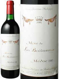 【送料無料】ミズ・ド・ラ・バロニー [1985] バロン・フィリップ・ド・ロスチャイルド <赤> <ワイン/ボルドー>
