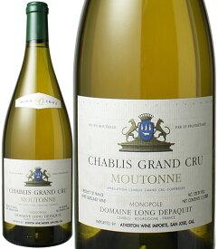【送料無料】シャブリ・グラン・クリュ ムートンヌ マグナム1.5L [2002] ドメーヌ・ロン・デパキ <白> <ワイン/ブルゴーニュ>
