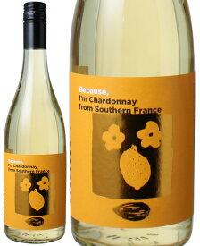 Because ビコーズ アイム シャルドネ フロム サザン・フランス [2019] <白> <ワイン/フランスその他>※ヴィンテージが異なる場合があります。