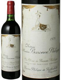【送料無料】シャトー・ムートン・バロンヌ・フィリップ [1975] <赤> <ワイン/ボルドー>