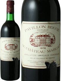 【送料無料】パヴィヨン・ルージュ・デュ・シャトー・マルゴー [1976] <赤> <ワイン/ボルドー>