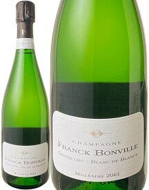 【送料無料】フランク・ボンヴィル ブリュット・ミレジム [2013] <白> <ワイン/シャンパン>