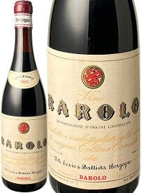 【送料無料】バローロ [1965] フラテッリ・セリオ・エ・バッティスタ・ボルゴーニョ <赤> <ワイン/イタリア>