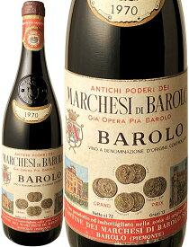 【送料無料】バローロ [1970] マルケージ・ディ・バローロ <赤> <ワイン/イタリア>