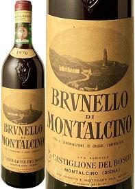 【送料無料】ブルネッロ・ディ・モンタルチーノ [1970] カスティリオン・デル・ボスコ <赤> <ワイン/イタリア>