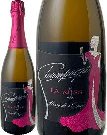 【送料無料】アンリ・ド・ヴォージャンシー ラ・ミス ブラン・ド・ブラン ブリュット グラン・クリュ ミレジム [2008] <白> <ワイン/シャンパン>