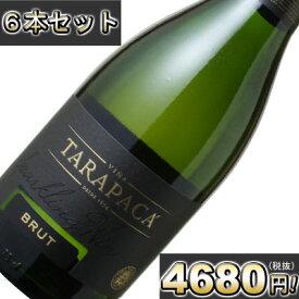 【送料無料】タラパカ スパークリング・ブリュット 6本セット <白> <ワイン/スパークリング>【沖縄・離島は別料金加算】