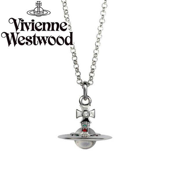 【送料無料】 ヴィヴィアン ウエストウッド ネックレス Vivienne Westwood ペンダント アクセサリー NEW TINY ORB PENDANT 752014B-1 752014B/1 ヴィヴィアン・ウエストウッド ビビアン 【あす楽対応】【RCP】【ブランド】【セール】