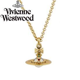 【送料無料】 ヴィヴィアン ウエストウッド ネックレス Vivienne Westwood ペンダント アクセサリー ビビアン NEW TINY ORB PENDANT GOLD 63020097-R001 752014B-2 ヴィヴィアン・ウエストウッド【あす楽対応】【RCP】【プレゼント】