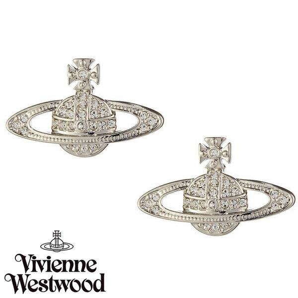 【送料無料】 ヴィヴィアン ウエストウッド ピアス Vivienne Westwood アクセサリー ビビアン MINI BAS RELIEF EARRINGS 724535B-1 724535B/1 ヴィヴィアン・ウエストウッド 【RCP】【プレゼント】【セール】