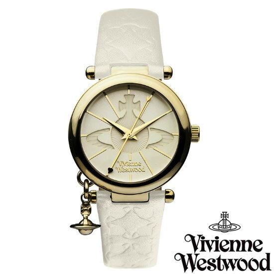 【超目玉】【送料無料】 Vivienne Westwood ヴィヴィアン ウエストウッド レディース 腕時計 時計 ビビアン VV006WHWH オフホワイト ヴィヴィアン・ウエストウッド 【あす楽対応】【RCP】【プレゼント】【ブランド】【セール】
