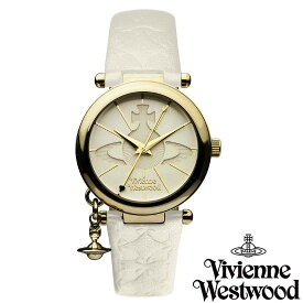 【送料無料】 Vivienne Westwood ヴィヴィアン ウエストウッド レディース 腕時計 時計 ビビアン VV006WHWH オフホワイト×ゴールド ヴィヴィアン・ウエストウッド 【あす楽対応】【RCP】【プレゼント】【ブランド】【ラッキーシール対応】【セール】