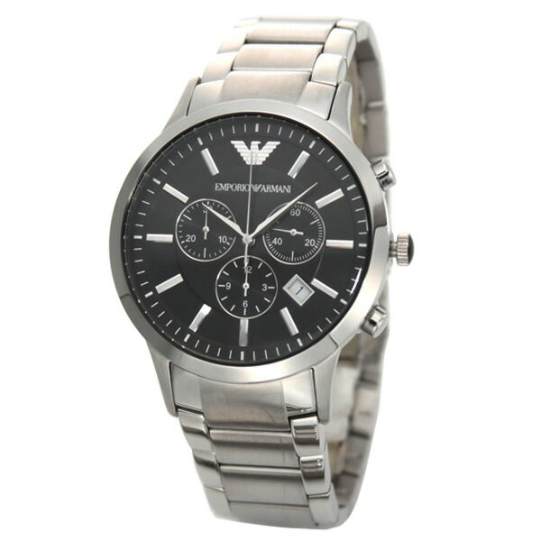 【送料無料】 EMPORIO ARMANI エンポリオアルマーニ メンズ 腕時計 クロノグラフ AR2434 エンポリオ・アルマーニ エンポリ アルマーニ 時計 とけい 【あす楽対応】【RCP】【プレゼント】【ブランド】【セール】
