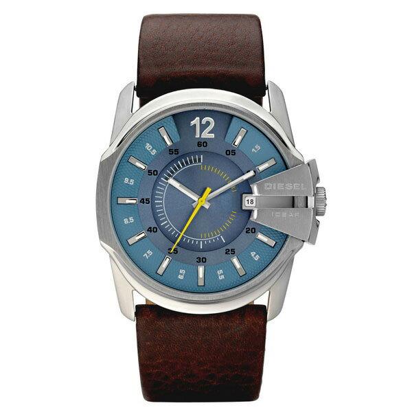 【送料無料】 DIESEL ディーゼル メンズ 腕時計 時計 DZ1399 MASTER CHIEF マスターチーフ ブラウン×ライトブルー【あす楽対応】【RCP】【プレゼント】【商品入れ替えのため大特価】【セール】