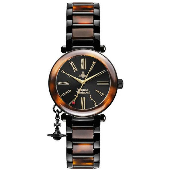 【超目玉】【送料無料】 Vivienne Westwood ヴィヴィアン ウエストウッド レディース 腕時計 時計 ビビアン VV006BKBR ヴィヴィアン・ウエストウッド 【あす楽対応】【RCP】【プレゼント】【セール】