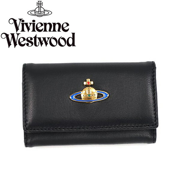 【送料無料】Vivienne Westwood ヴィヴィアン ウエストウッド キーケース キーホルダー ビビアン 720 NAPPA NERO BLACK 2017S/S ブラック ヴィヴィアン・ウエストウッド 【あす楽対応】【RCP】【プレゼント】【ブランド】